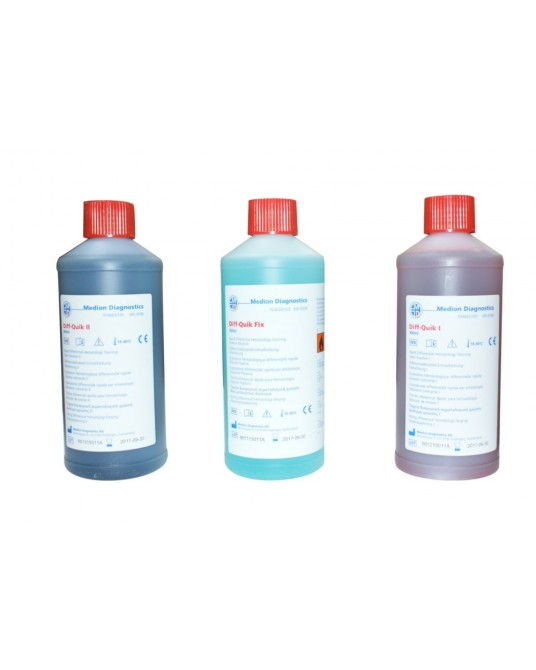 Diff-Quick Färbeset, 3x500 ml