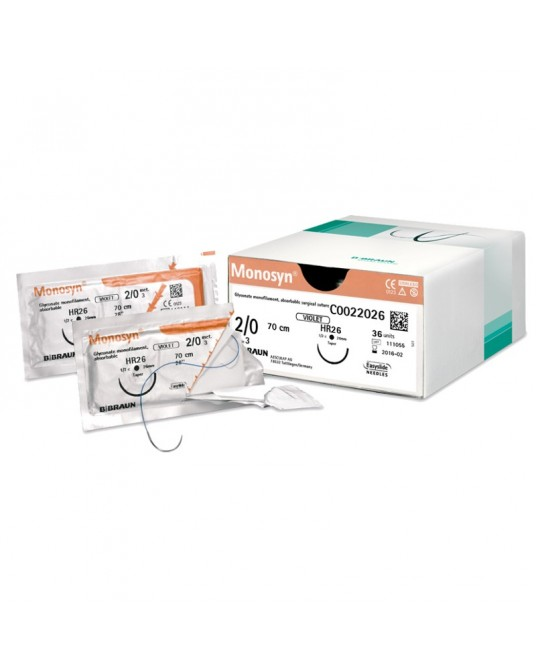 Surgicryl Monofast SMI, Rundkörper Nadel, 12er Pack