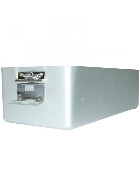 Alu- Sterilisierbehälter mit Filter ohne Deckel