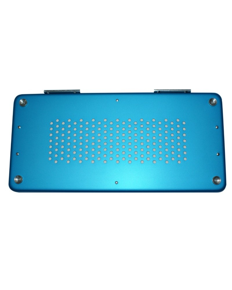 Sterilisierbehälter- Deckel Alu mit Filter