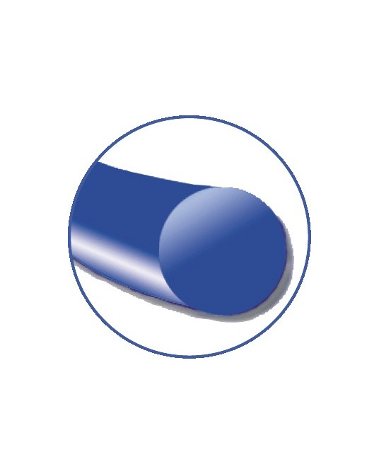 Daclon Nylon Flachspule SMI, blau