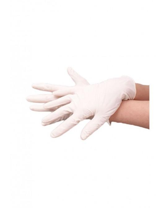 Latex Handschuche gepudert