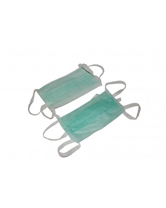3-lagige OP-Maske mit Bändern