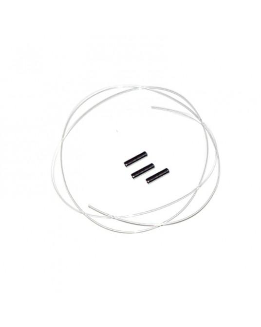 Nylonfaden mit 3 Crimpröhrchen Kreuzband