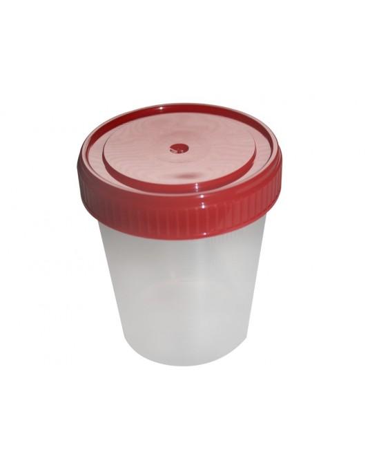 Urinbecher mit Schraubdeckel 100 ml, 90 St.