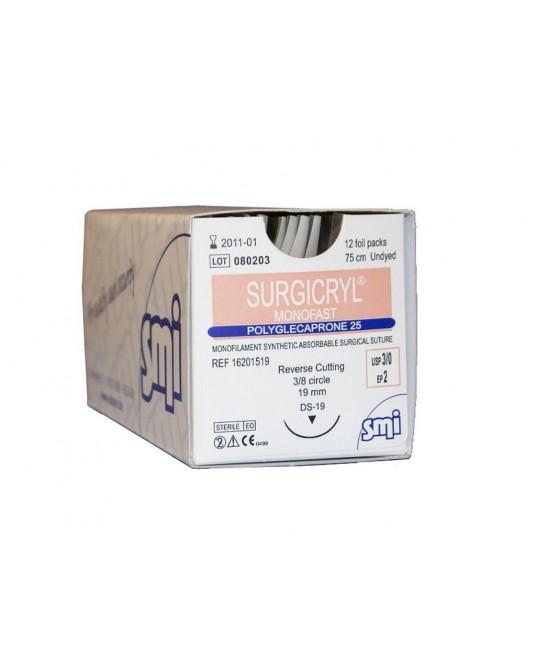 Surgicryl Monofast SMI, Außenschneidende Nadel