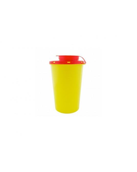 Sicherheits - Abwurfbehälter für Kanülen und Spritzen