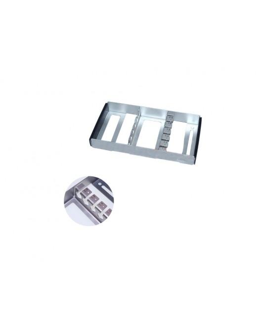Sortiergestell für Sterilisierbehälter kurze Bohrdrähte (Kirschner)
