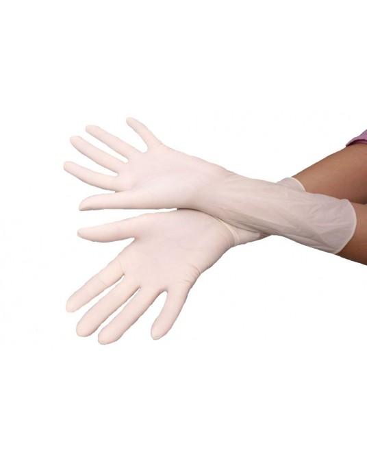 Gepuderte sterile OP- Handschuhe, 1 Paar
