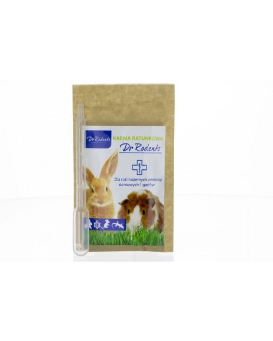 Ein spezielles Rettungfutter von Dr. Rodents für Nagetiere und Kaninchen