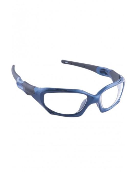 Röntgenschutzbrille Modell 1205, blau