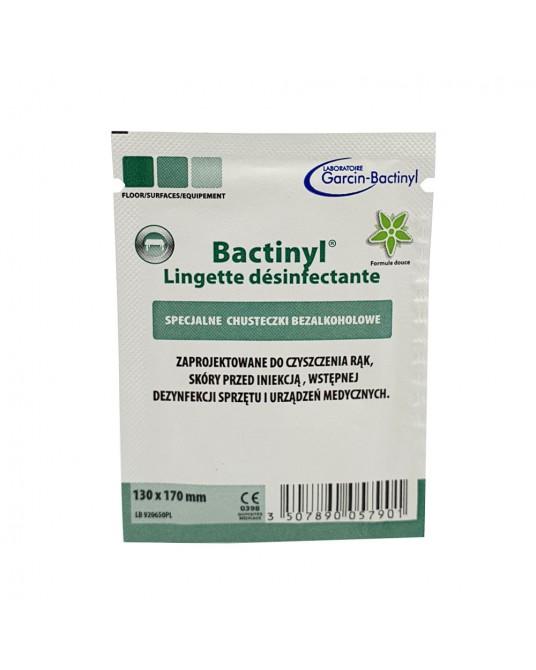 Chusteczki dezynfekujące BACTINYL do rąk, skóry i powierzchni