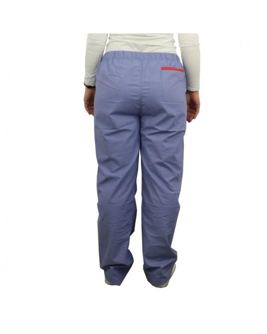 OP-Hosen, blau, Größe XL, (roter Rand)