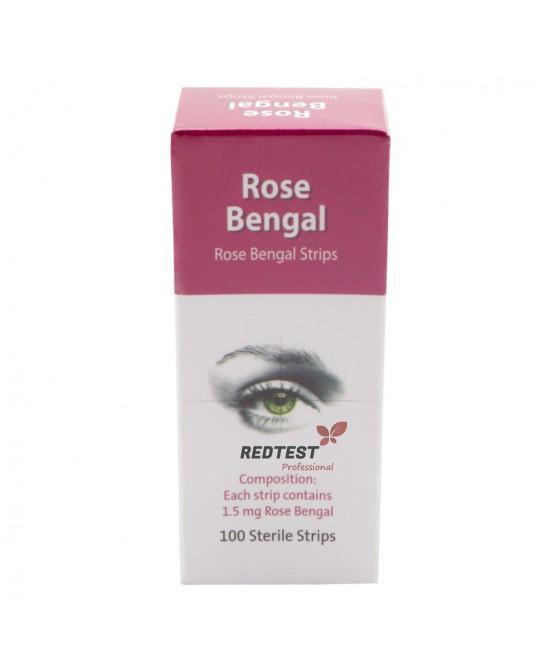Rose Bengal Streifen, 100 Streifen