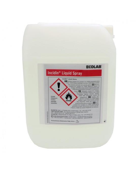 Incidin Liquid Spray , Präparat für schnelle Flächendesinfizierung