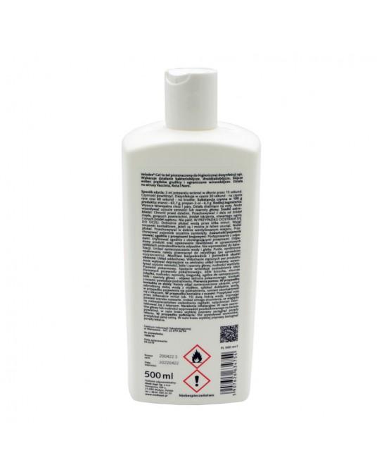 Velodes Handdesinfektionsgel 500 ml