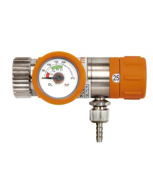 Sauerstoffdruckminderer mit einstellbarem Durchfluss Rescue 25