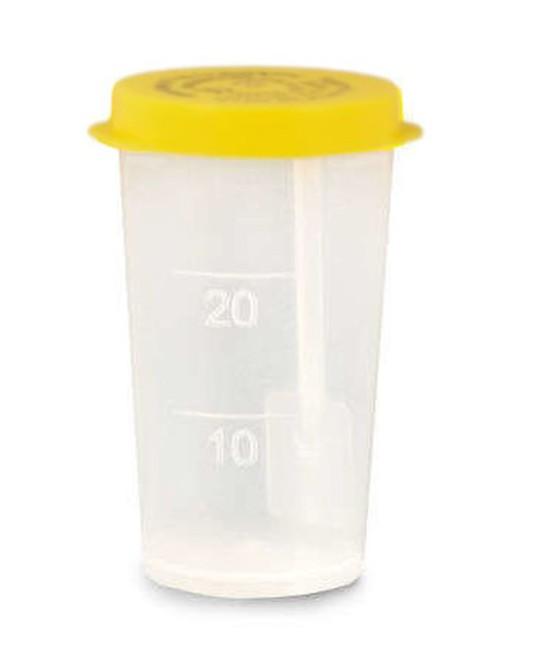 Fekalienbehälter 30ml unsteril, 100 Stck.