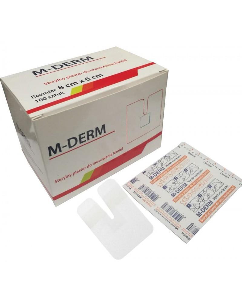 M-DERM Fixierpflaster 6 x 8 cm, 100 St.