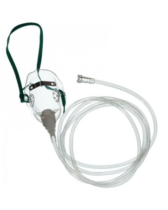 Sauerstoffmaske mit 2,1m langem Atemschlauch