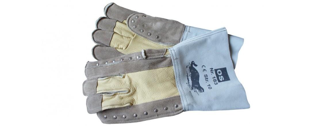 Hunde- und Katzenfänger - Handschuhe zur Tierbändigung