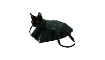 Katzensäcke und Käfige