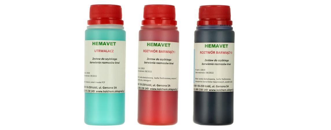 Färbesets für die Hämatologie