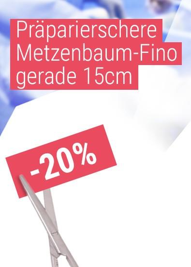 Präparierschere Metzenbaum-Fino